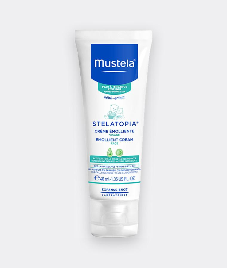 Mustela Face emollient cream for babies