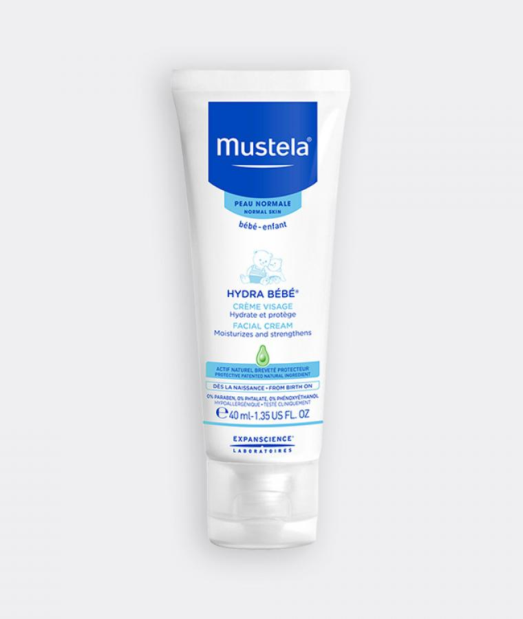Mustela Hydra bébé facial cream for babies with normal skin